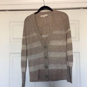 LOFT Sweaters - Medium Loft V Neck Button Down Cardigan.